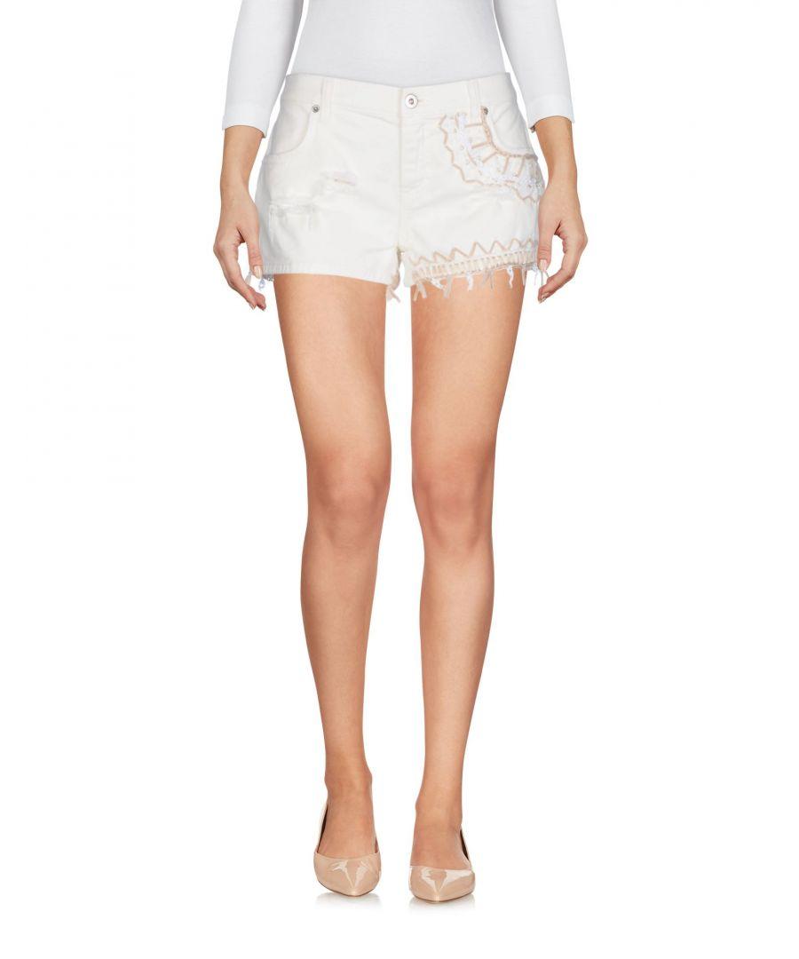 Image for Bettib. Ivory Cotton Shorts