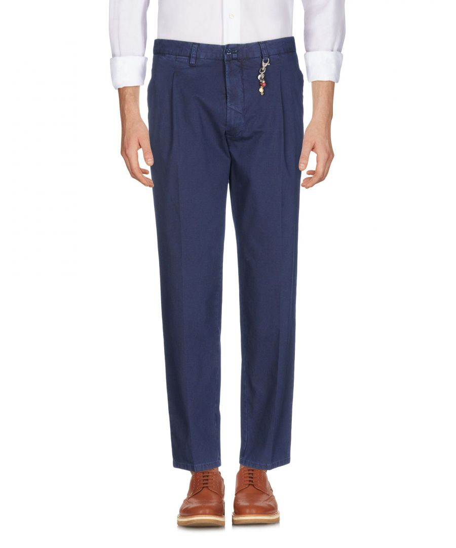 Image for Gio Zubon Dark blue Cotton Casual trousers