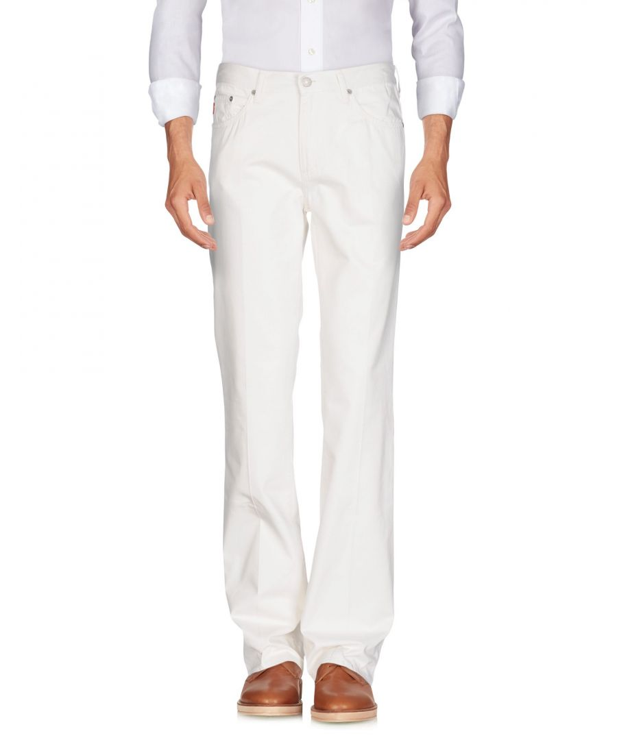 Image for TROUSERS Guess White Man Cotton