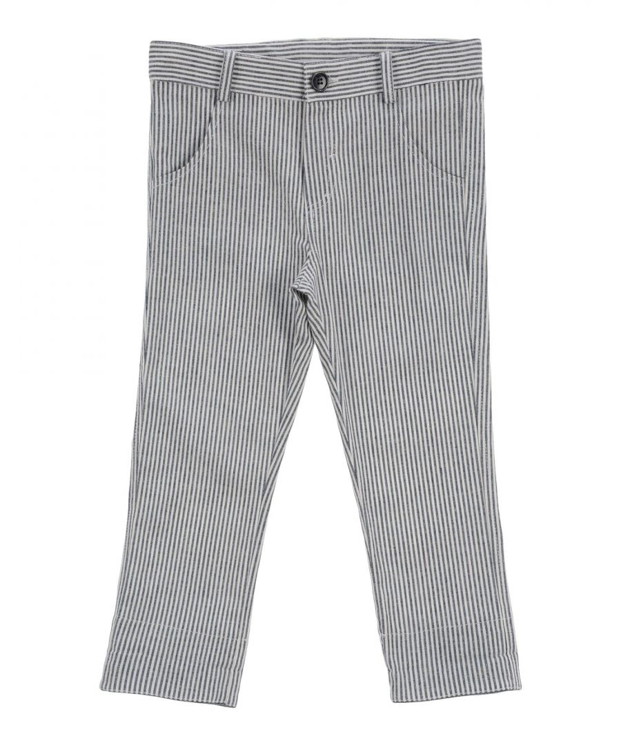 Image for Aletta Slate blue Boy Cotton Trousers