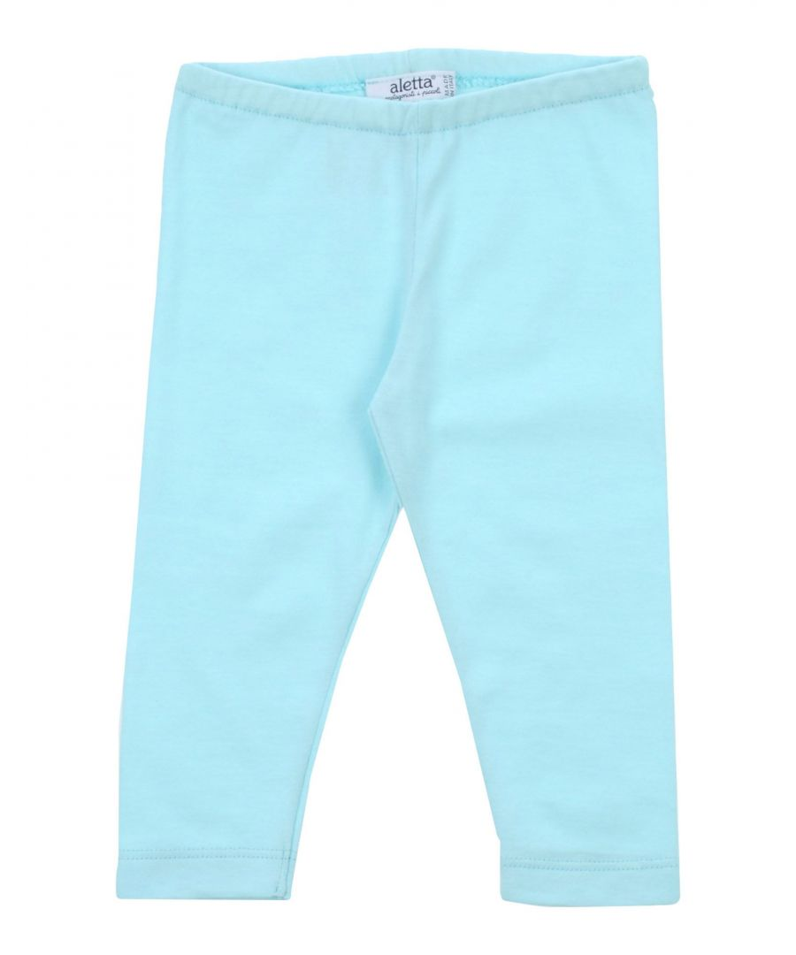 Image for Aletta Sky blue Girl Cotton Trousers