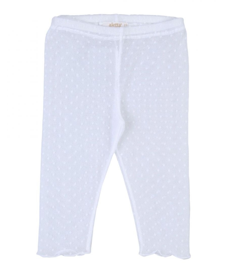 Image for Aletta White Girl Polyamid Trousers