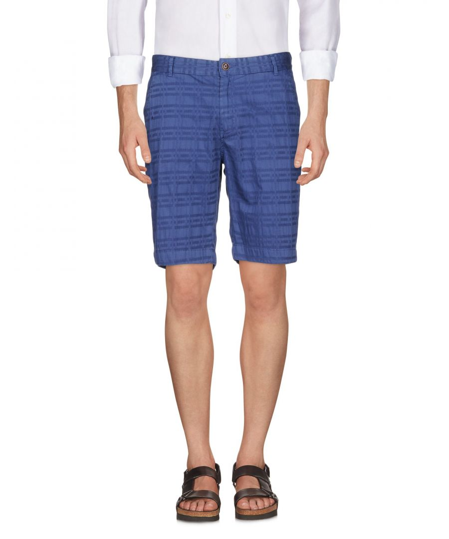 Image for Yes Zee By Essenza Dark Blue Cotton Shorts
