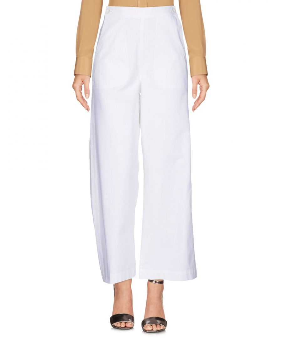 Image for TROUSERS M.I.H Jeans White Woman Cotton