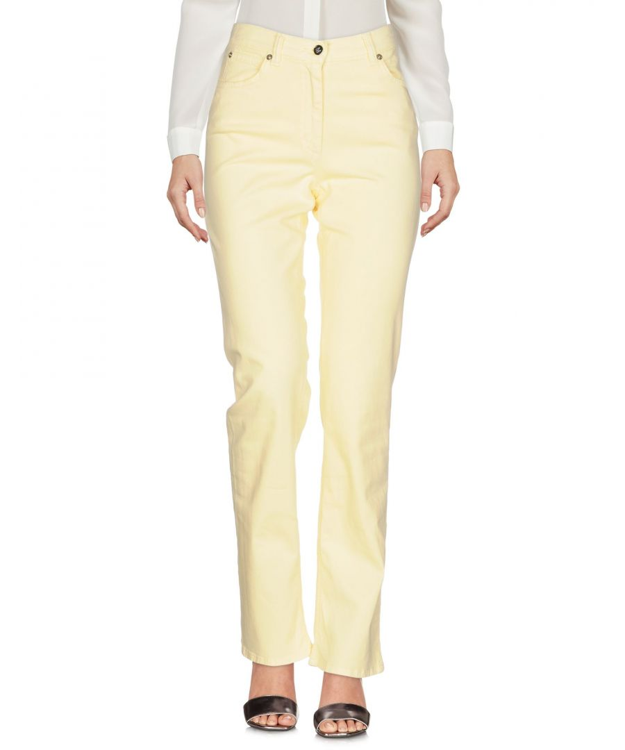 Image for TROUSERS Henry Cotton'S Light yellow Woman Cotton