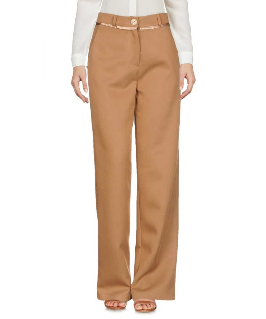 Image for TROUSERS Patrizia Pepe Camel Woman Lyocell