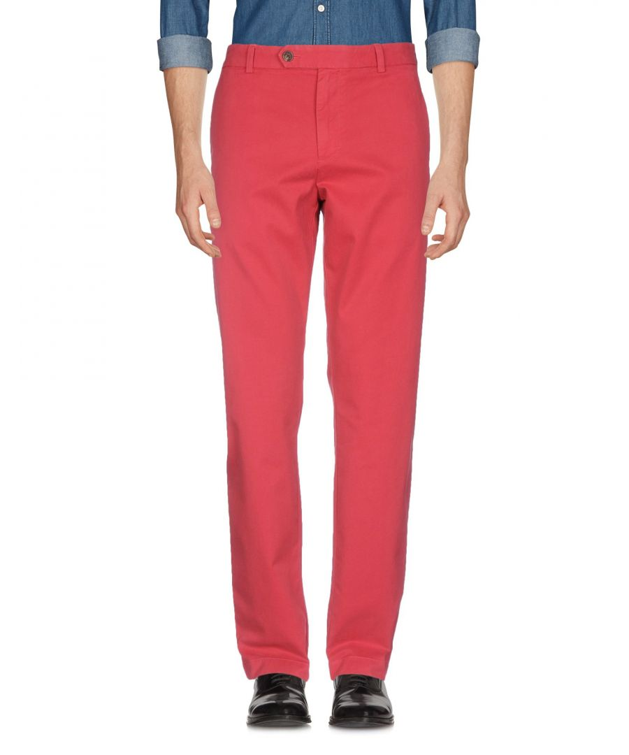 Image for Brooks Brothers Red Cotton Chino Trousers