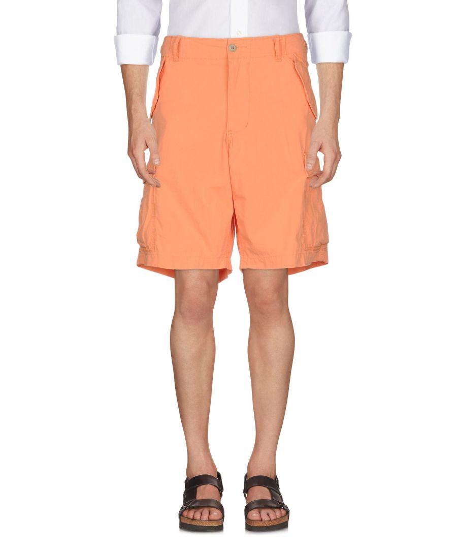 Image for Denim & Supply Ralph Lauren Orange Cotton Cargo Shorts