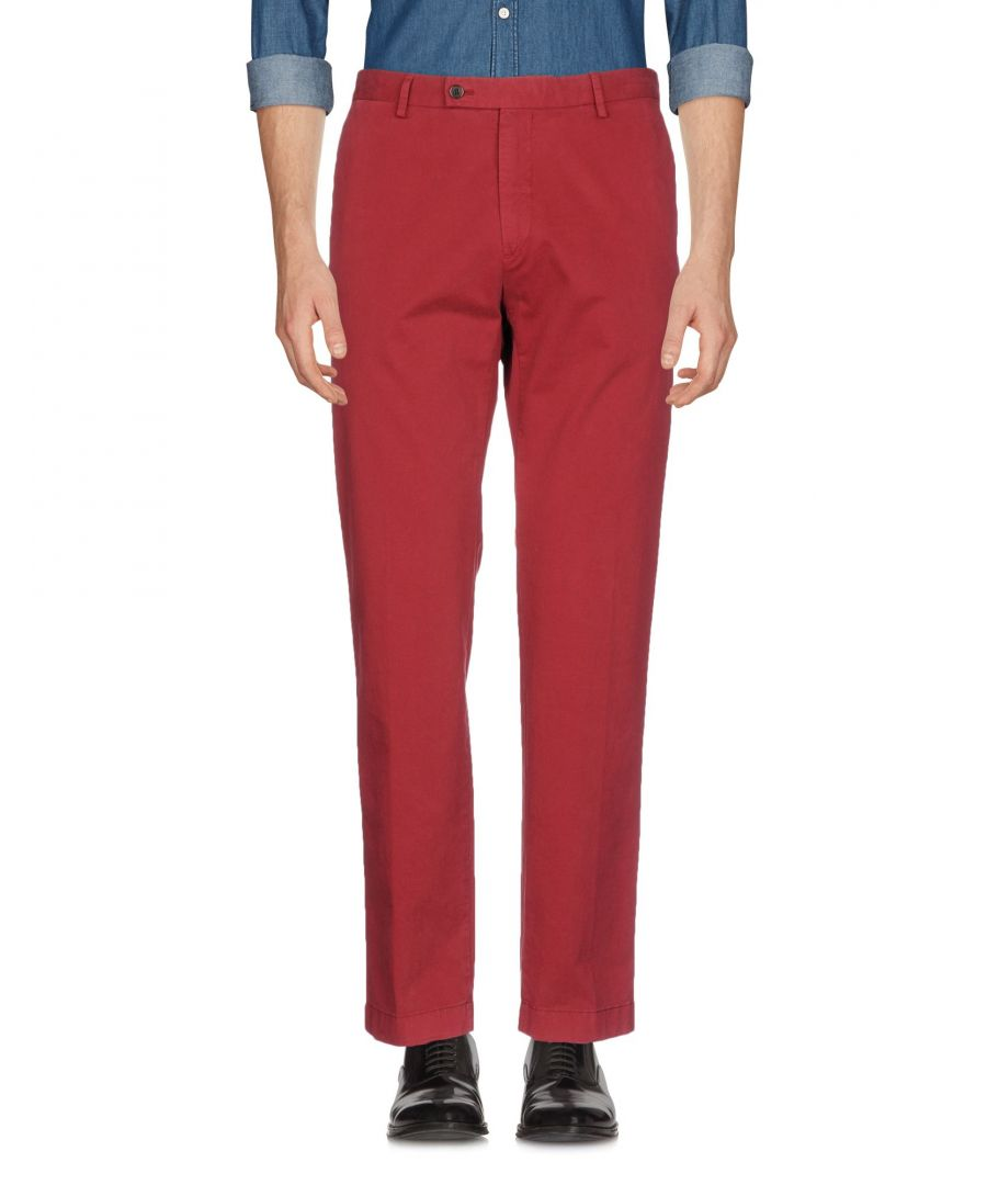 Image for TROUSERS Hackett Brick red Man Cotton