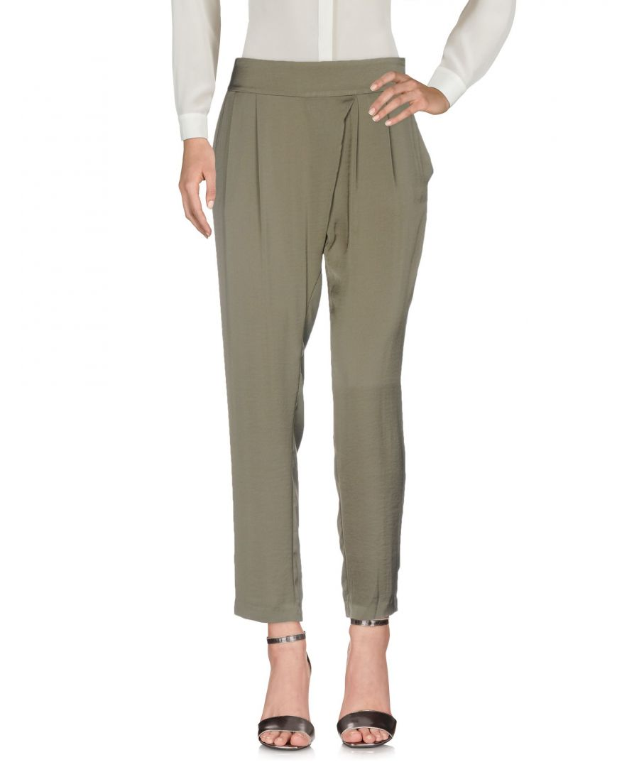 Image for TROUSERS Ba&Sh Military green Woman Polyester