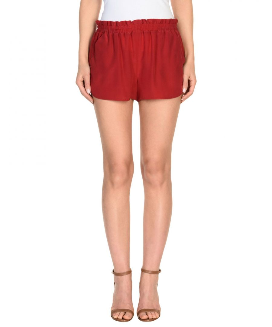 Image for Redvalentino Red Silk Shorts