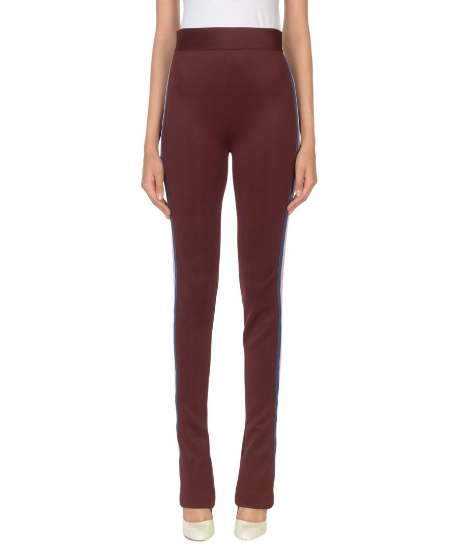 Image for Frankie Morello Maroon Polyester Casual trousers
