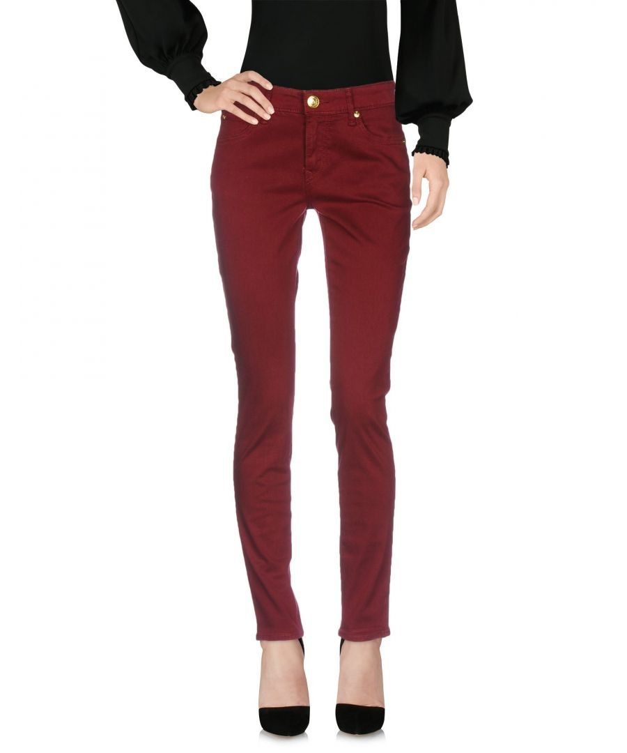 Image for True Religion Brick Red Slim Fit Tapered Leg Trousers