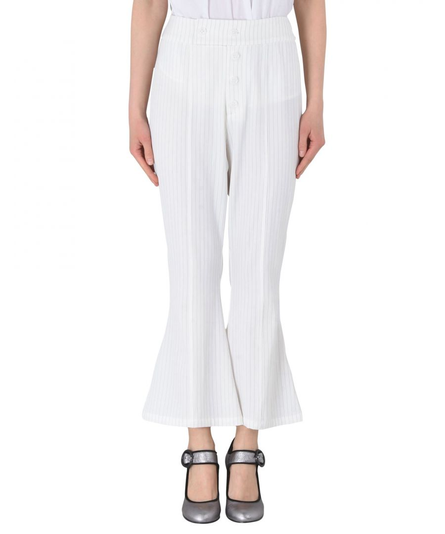 Image for TROUSERS Jovonna White Woman Polyester