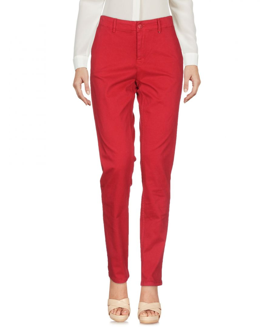 Image for TROUSERS Tommy Jeans Red Woman Cotton