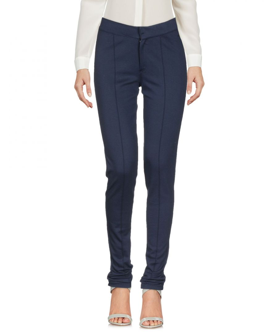 Image for Tommy Jeans Blue Cotton Slim Fit Trousers