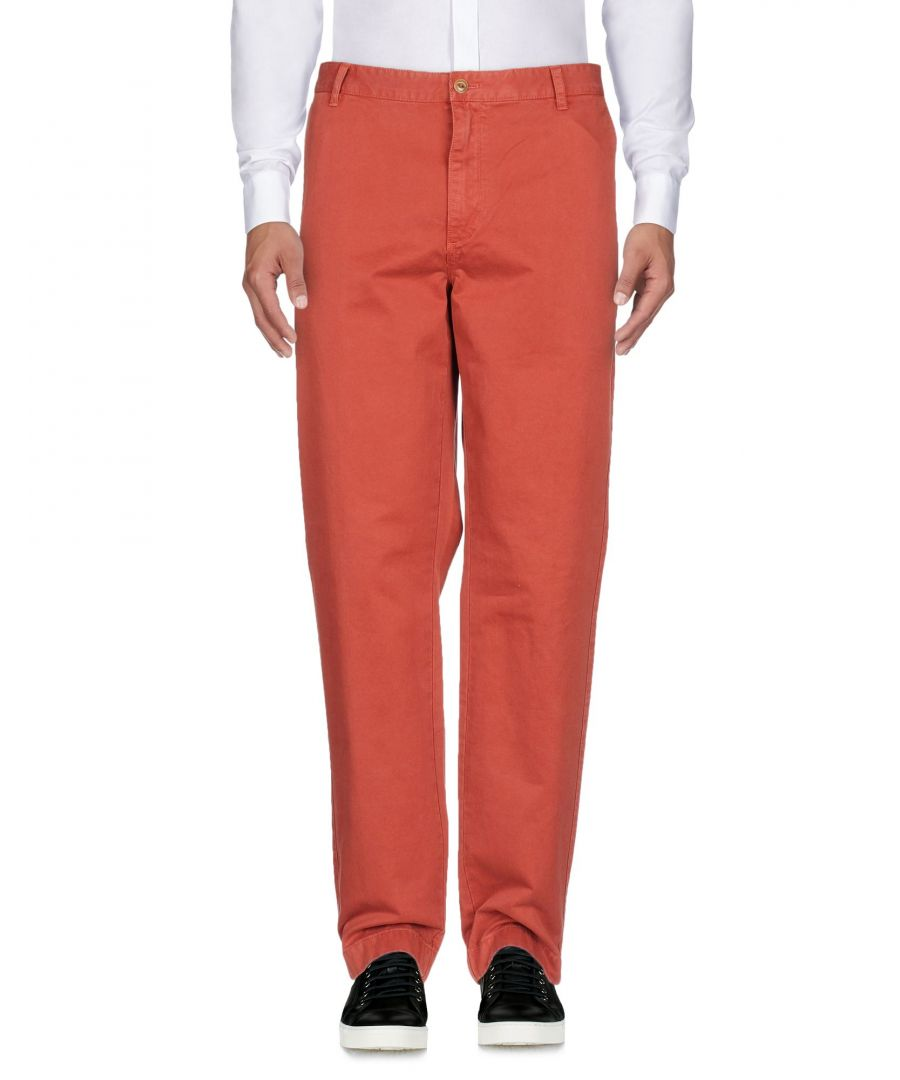 Image for Brooks Brothers Brick Red Cotton Trousers