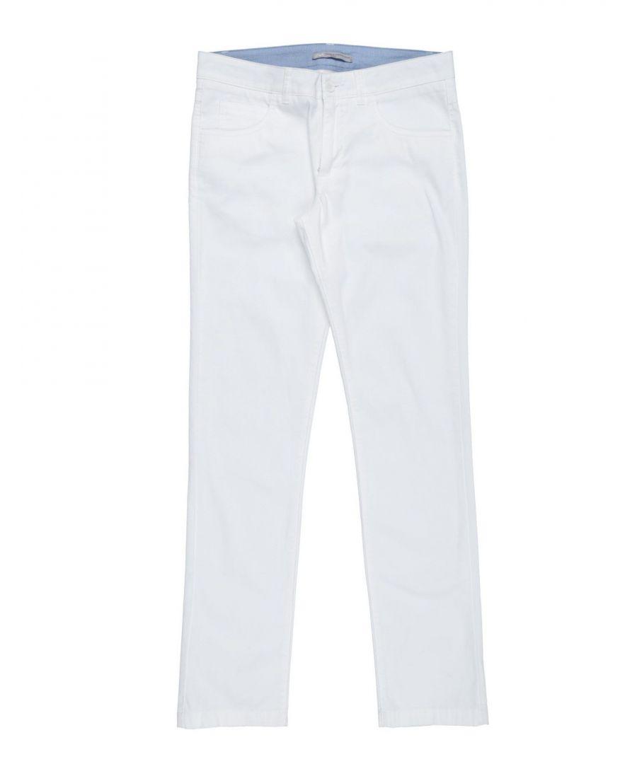 Image for Daniele Alessandrini White Boy Cotton Trousers