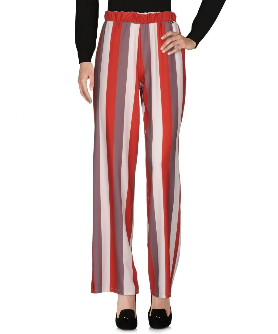 Image for Doisè Brick red Polyester Trousers