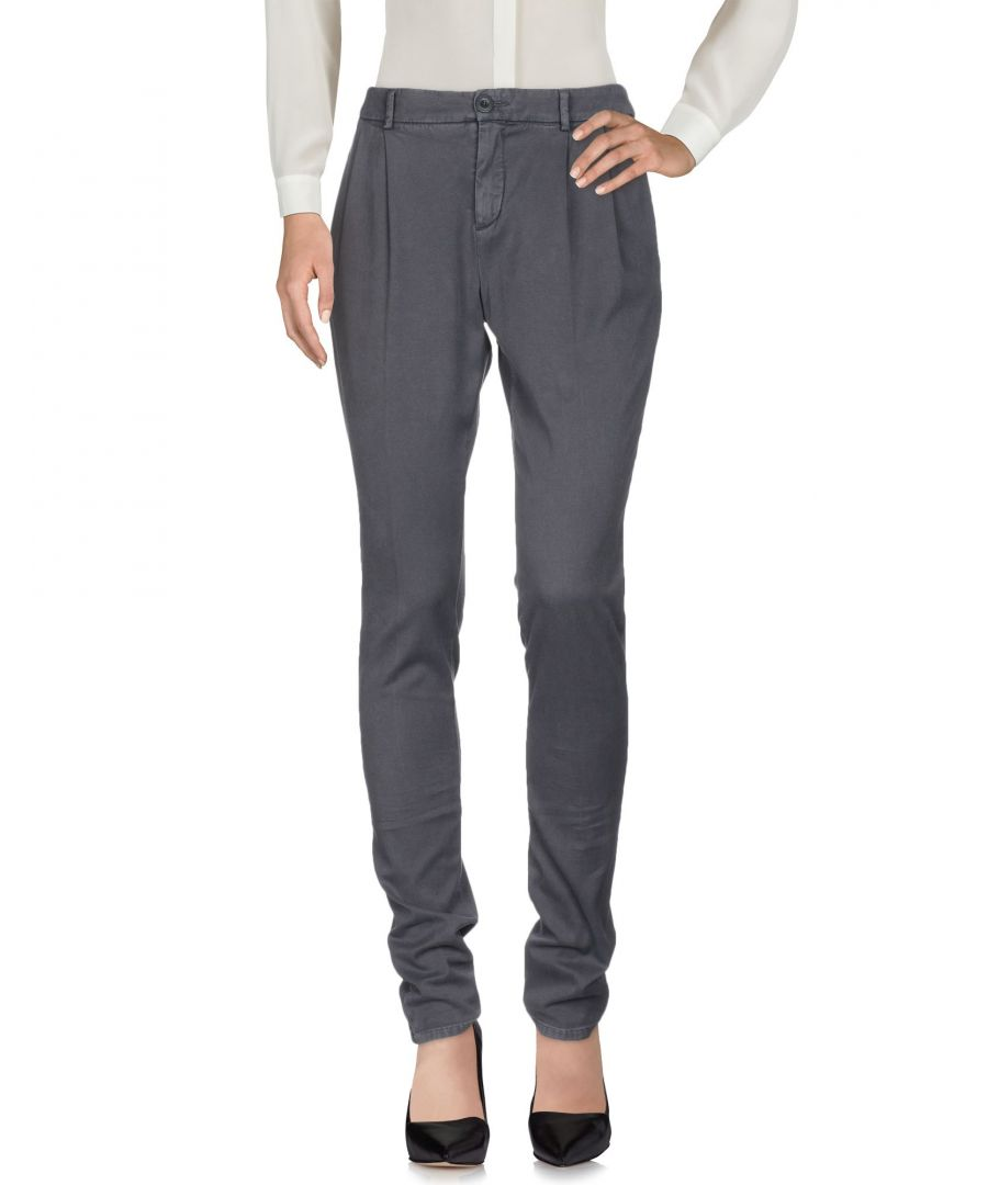 Image for Siviglia Lead Cotton Tapered Leg Chino Trousers