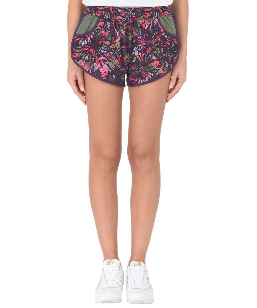 Image for Triumph Purple Print Techno Fabric Shorts
