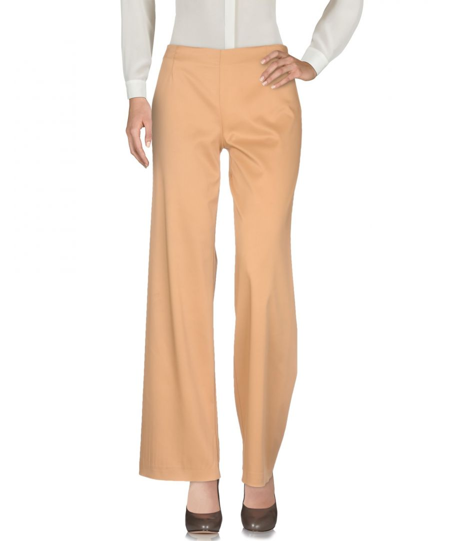 Image for TROUSERS Maison Laviniaturra Camel Woman Viscose