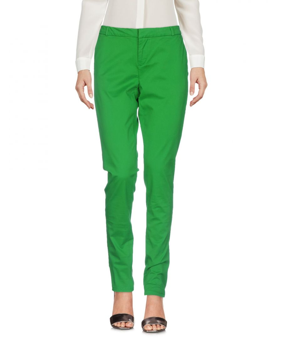 Image for Maison Scotch Green Cotton Tapered Leg Chino Trousers