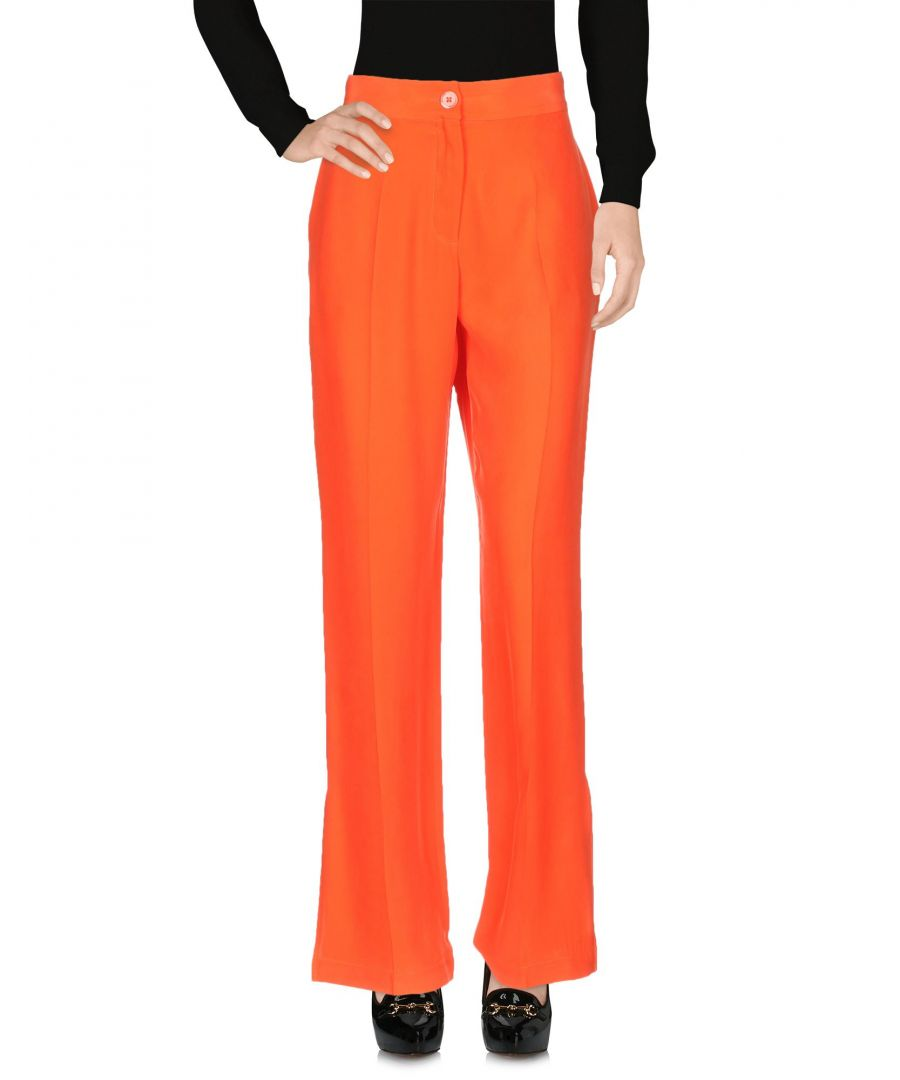 Image for Equipment Red Silk Tailored Trousers