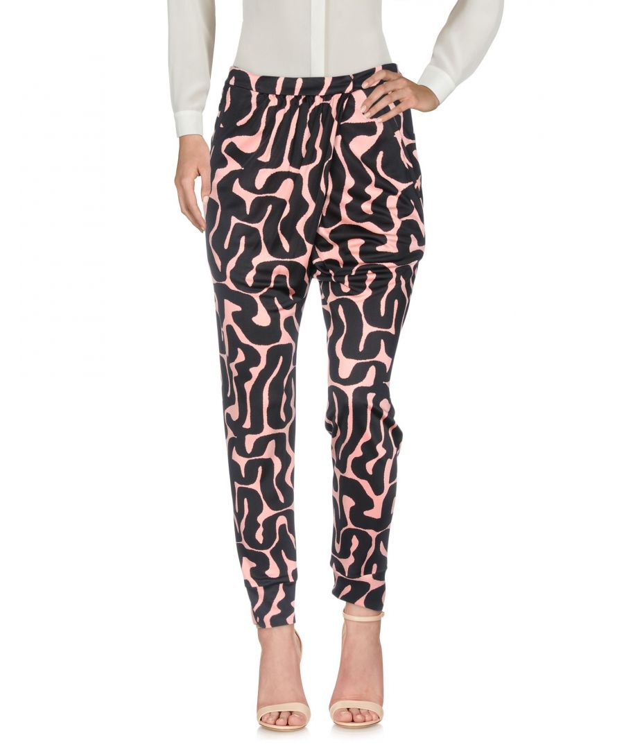 Image for TROUSERS Woman Issa Pink Viscose