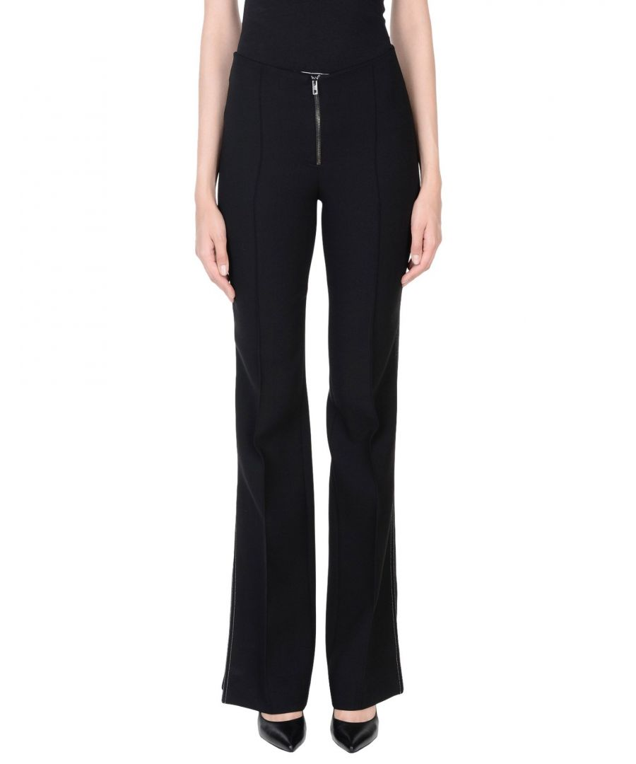 Image for Mrz Black Virgin Wool Trousers