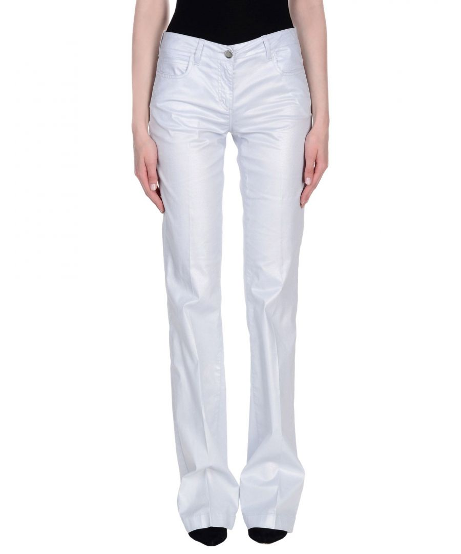 Image for TROUSERS Woman Karl Lagerfeld Light grey Cotton