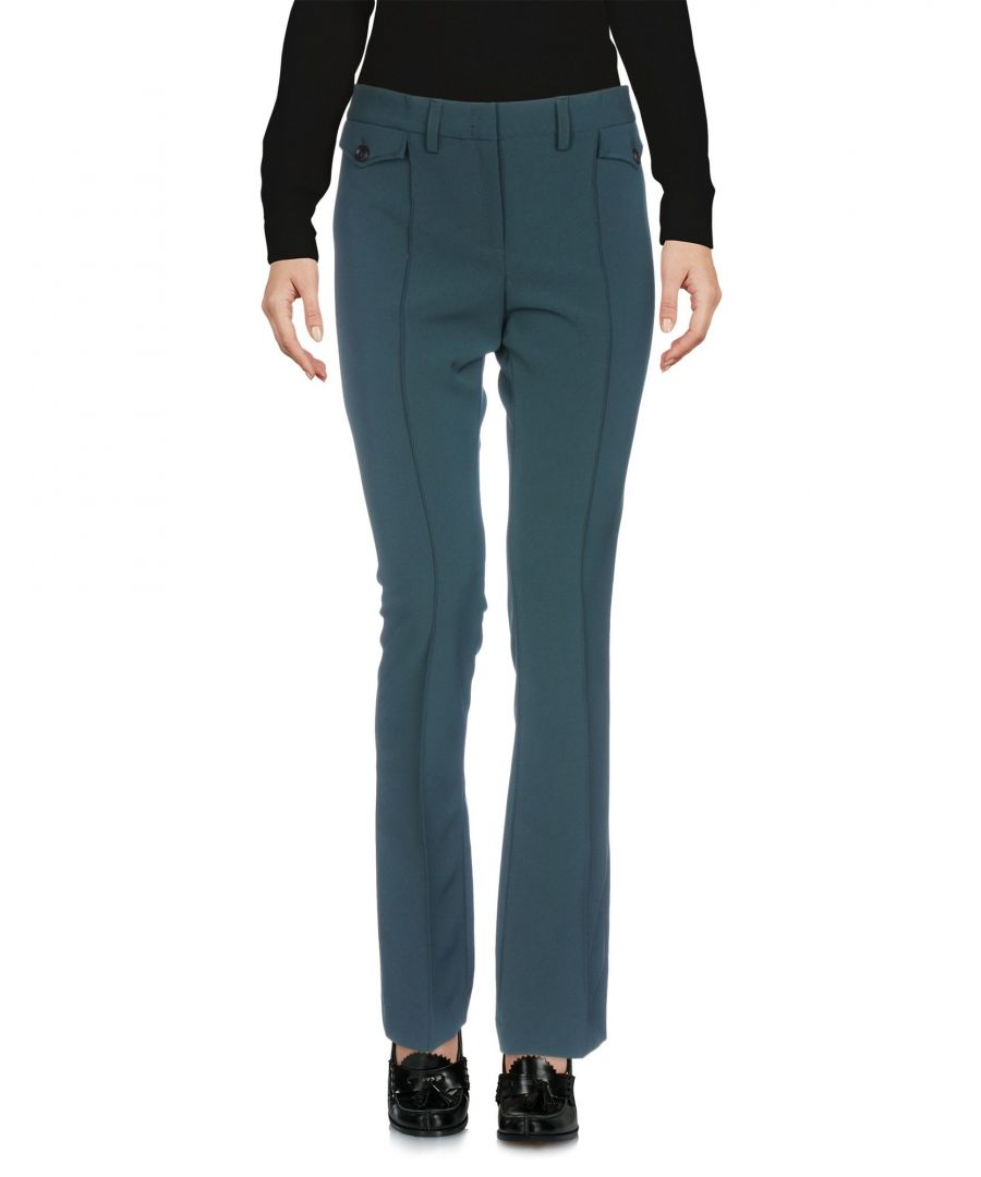 Image for TROUSERS Messagerie Deep jade Woman Polyester