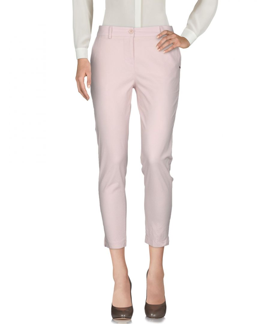 Image for Nenette Woman Casual trousers Light pink Cotton
