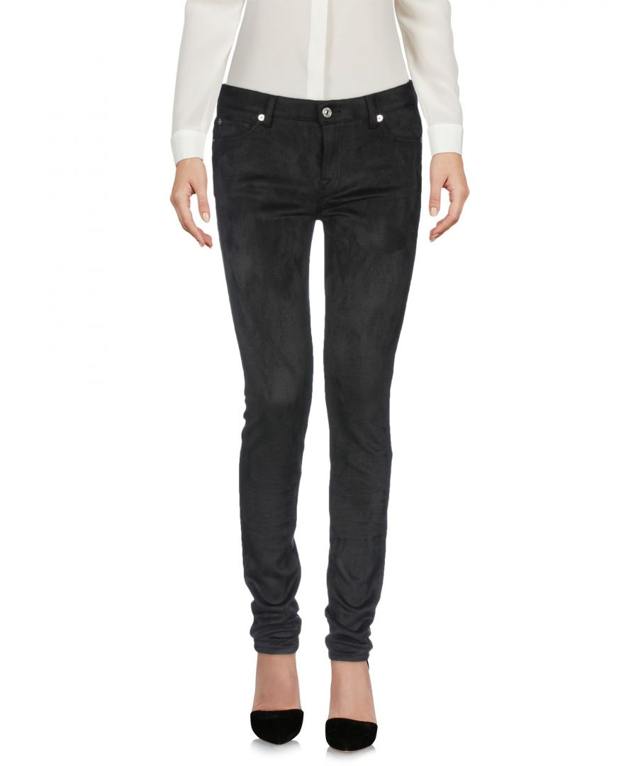 Image for TROUSERS 7 For All Mankind Black Woman Polyester
