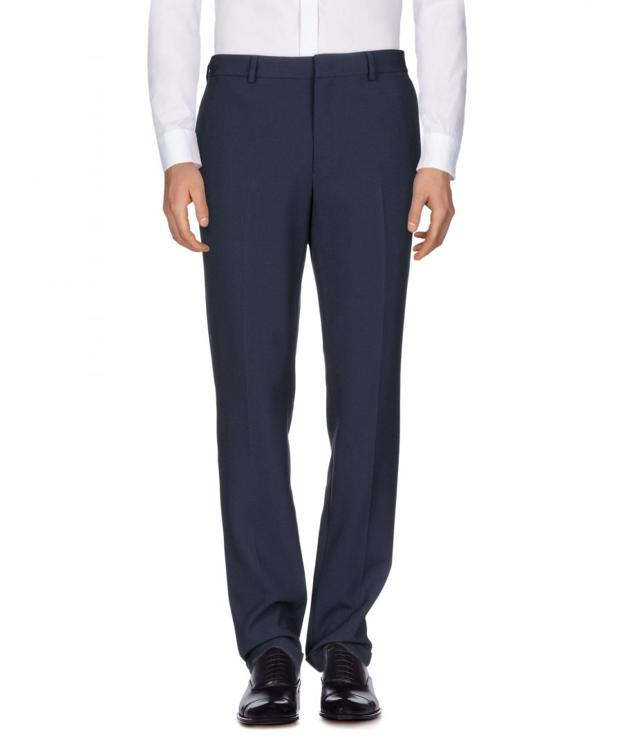 Image for Versace Collection Dark Blue Tapered Leg Tailored Trousers