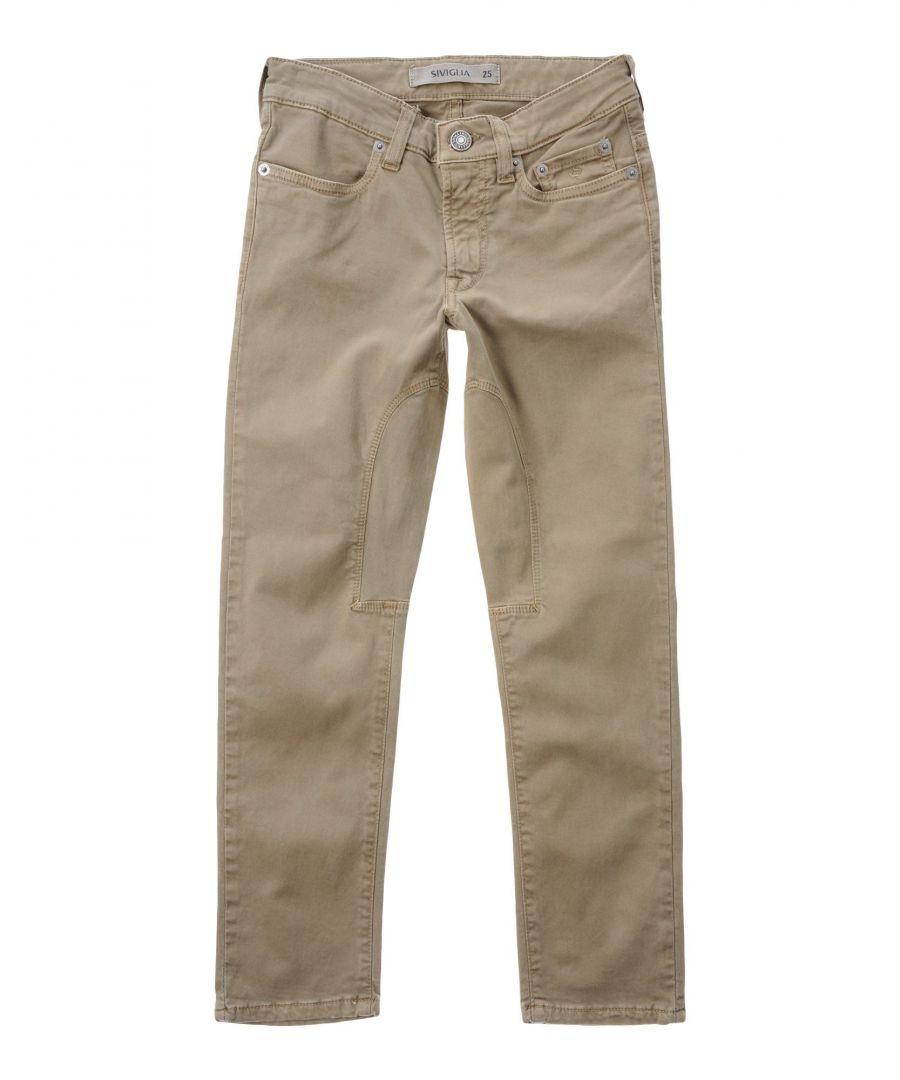 Image for TROUSERS Siviglia Military green Boy Cotton