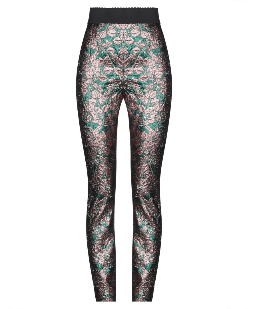 Image for Dolce & Gabbana Copper Jacquard Tapered Leg Trousers