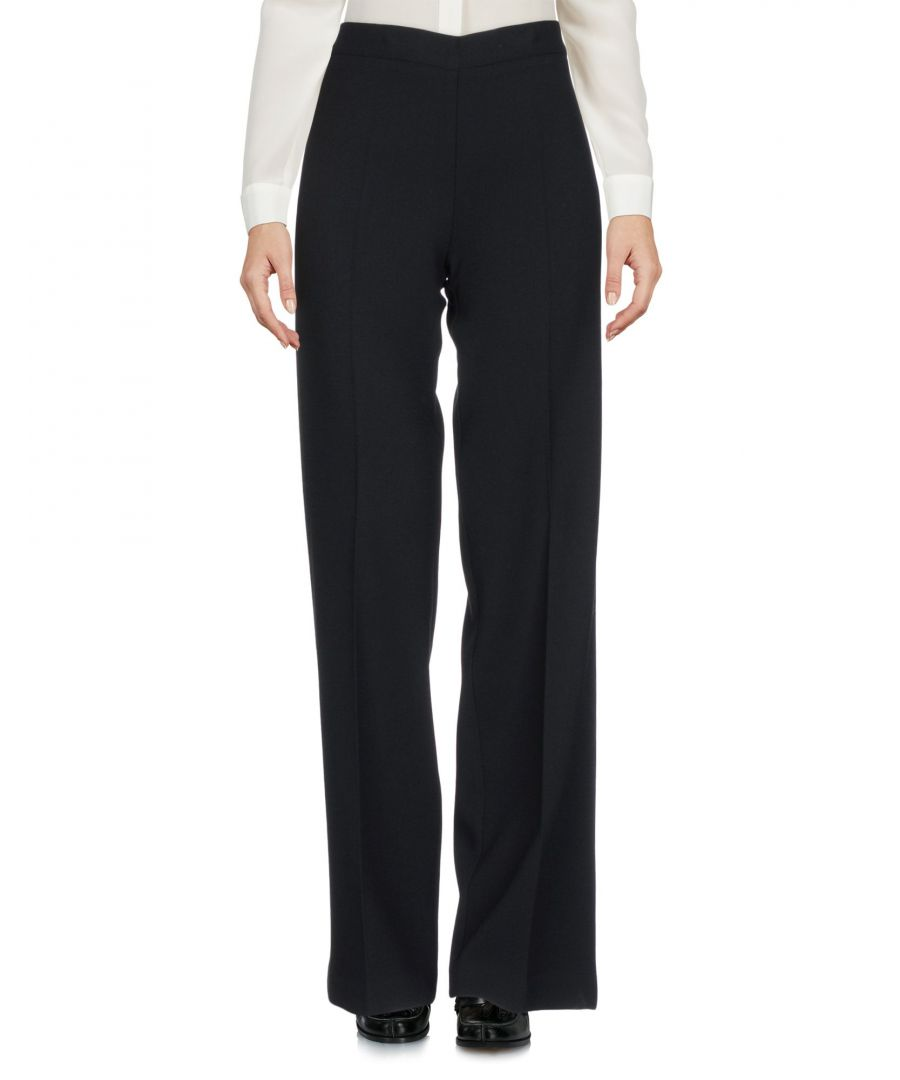 Image for P.A.R.O.S.H. Black Wool Trousers