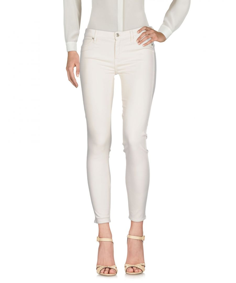 Image for TROUSERS 7 For All Mankind Beige Woman Lyocell