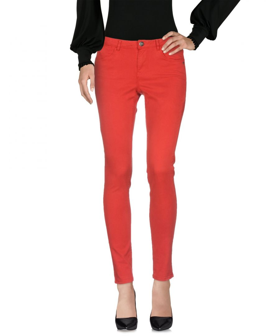 Image for TROUSERS Woman Maison Scotch Red Cotton