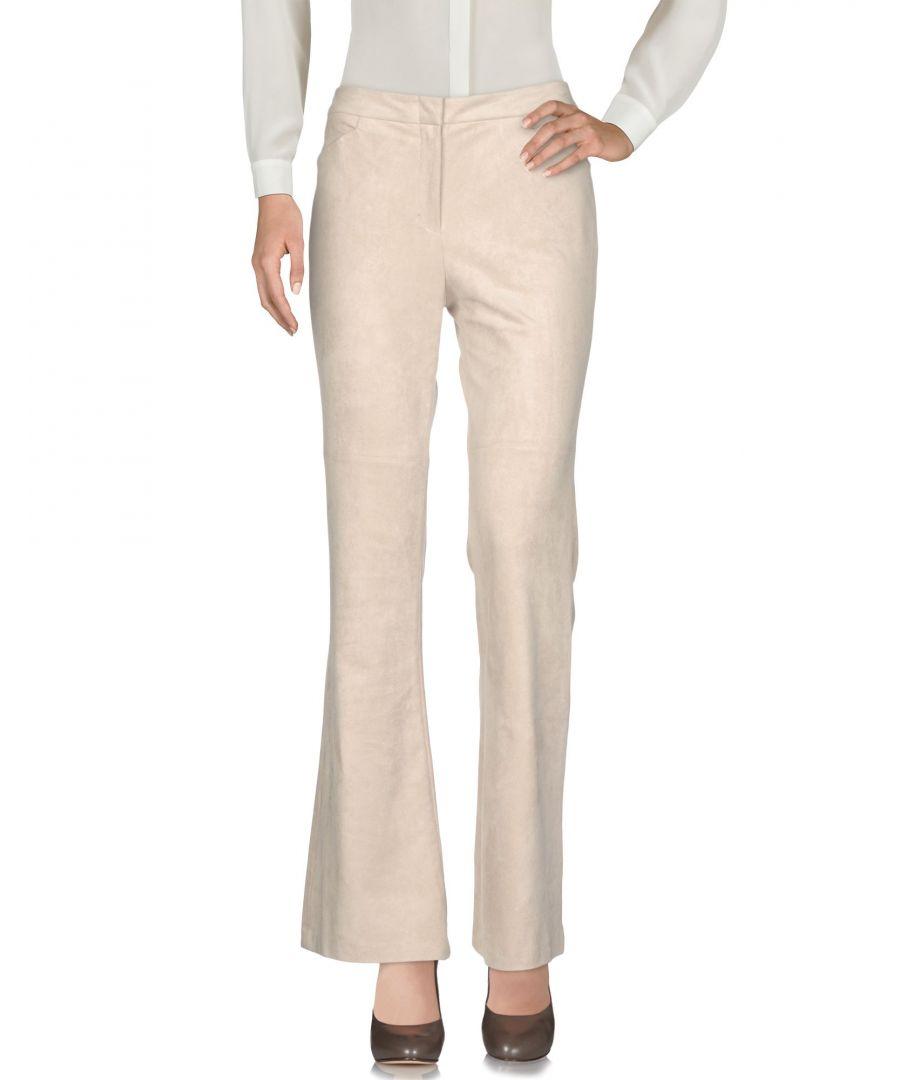 Image for Bcbgmaxazria Beige Flare Trousers
