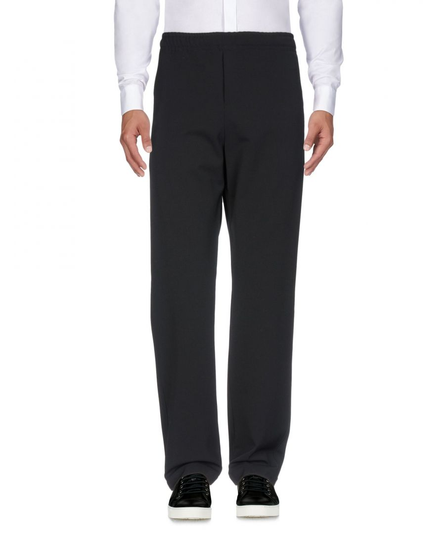 Image for Joseph Dark Blue Twill Straight Leg Trousers
