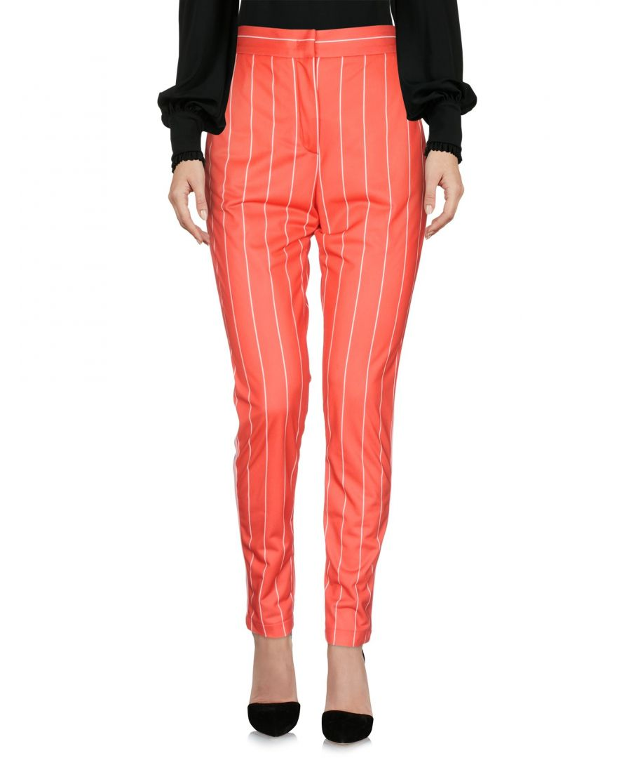 Image for TROUSERS Msgm Orange Woman Polyester
