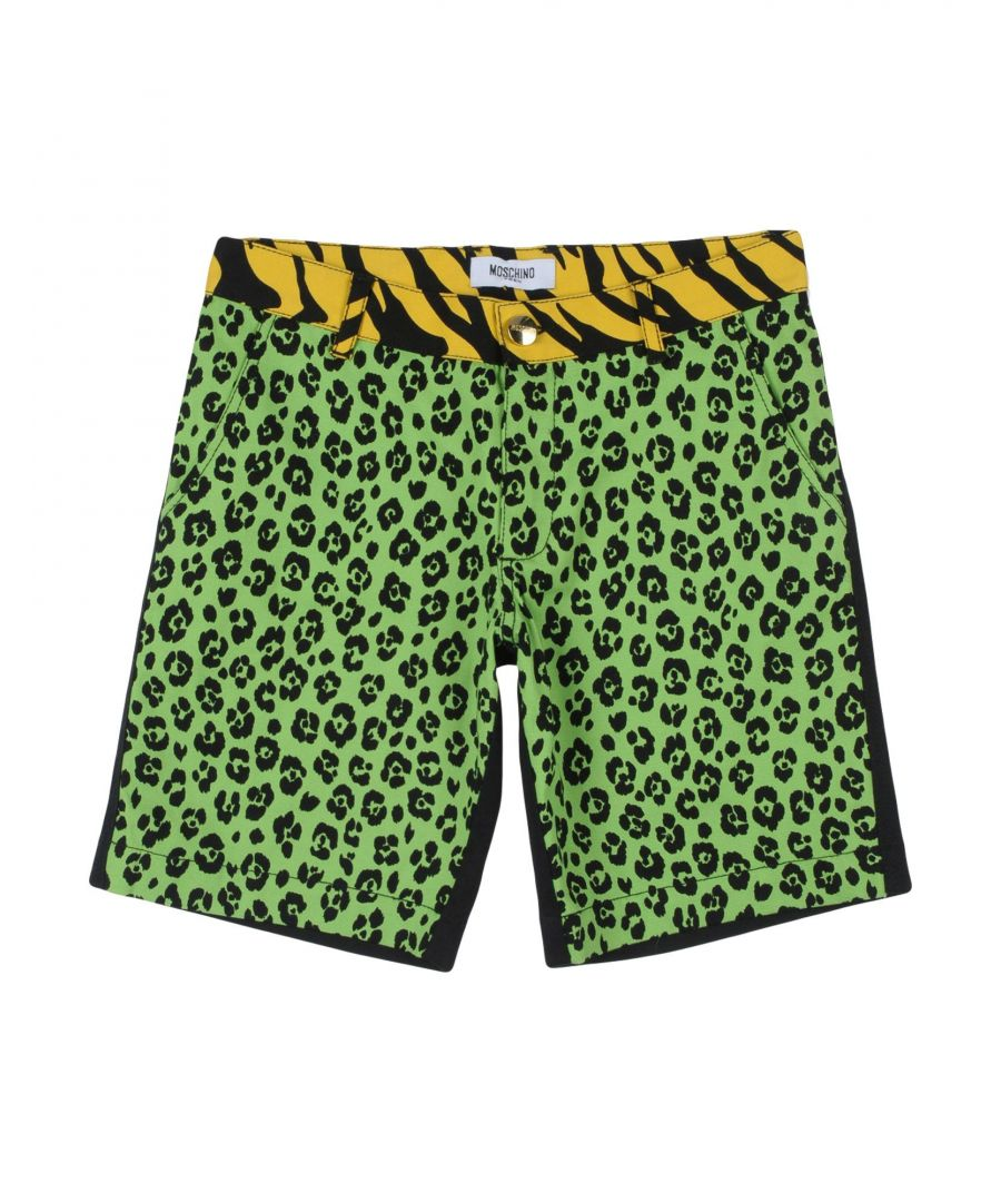 Image for TROUSERS Girl Moschino Teen Light green Cotton