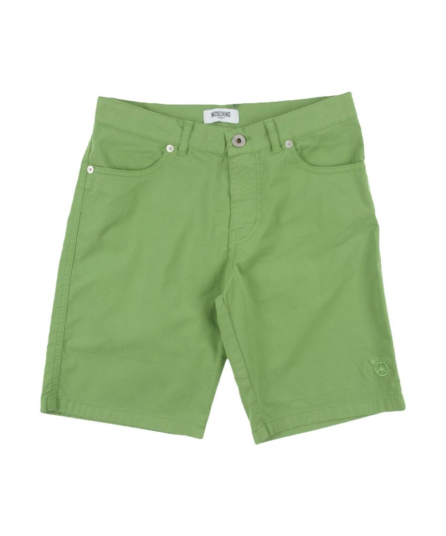 Image for TROUSERS Boy Moschino Teen Light green Cotton