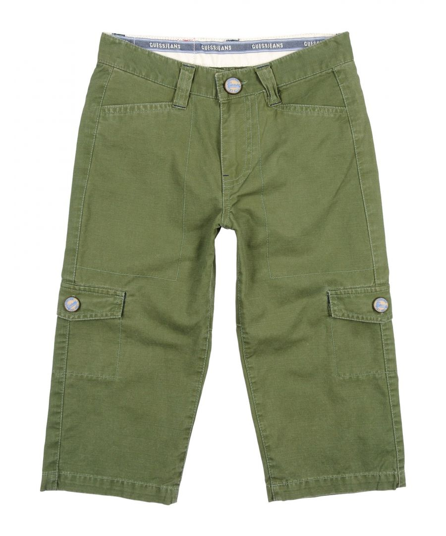 Image for TROUSERS Guess Green Boy Cotton