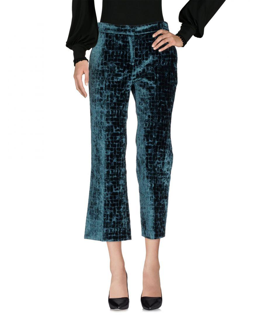 Image for L' Autre Chose Green Velvet Trousers