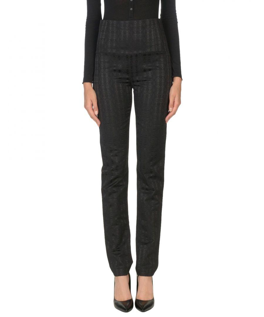 Image for Patrizia Pepe Black Cotton Trousers