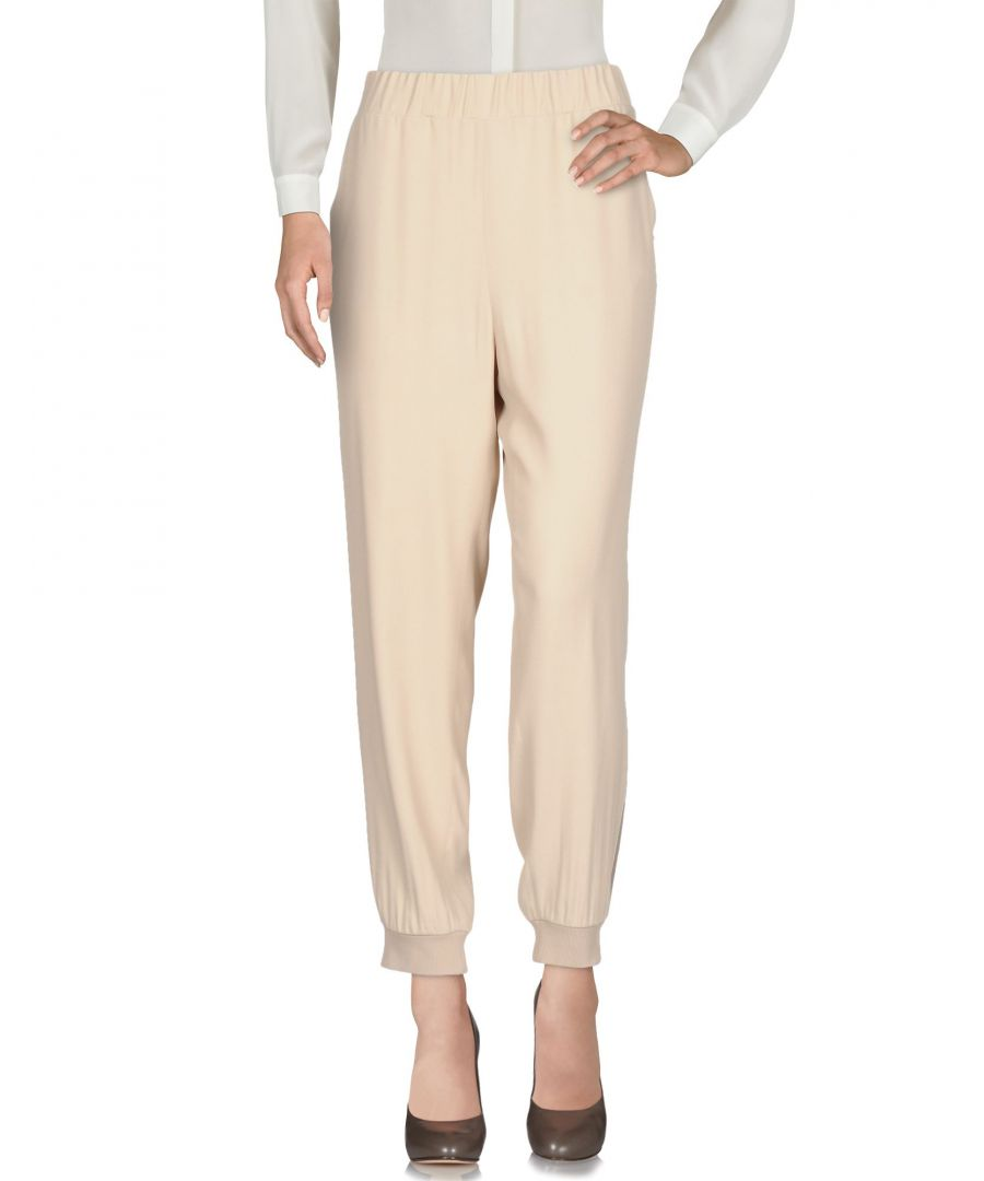 Image for TROUSERS Wtr Beige Woman Viscose