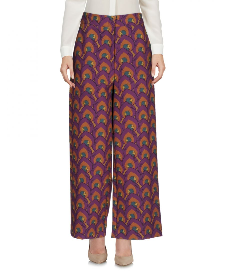 Image for L' Autre Chose Purple Casual Trousers